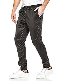Sixth June - Pantalon de jogging noir à pressions fantaisie