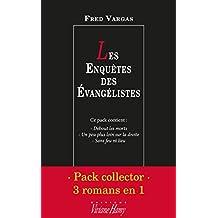 Pack collector Fred Vargas - Les Enquêtes des Evangélistes