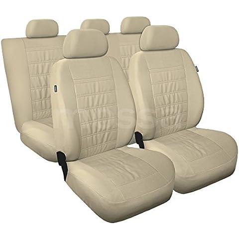 (MD-8) Universal Fundas de asientos compatible con BMW (1, 2, 3, 5, 7, X3, X5, X6)