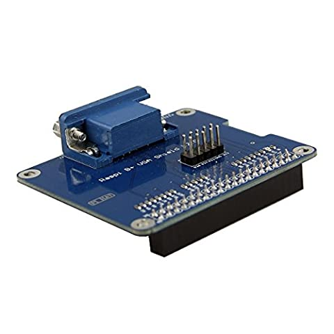 TOOGOO(R) VGA Shield V2.0 Expansion Board For Raspberry Pi 3B / 2B / B+ / A+ / VGA Shield V2.0 Expansion Board For Raspberry Pi 3B / 2B / B+ / A+ . . Extend a VGA interface via GPIO and remain HDMI. . .