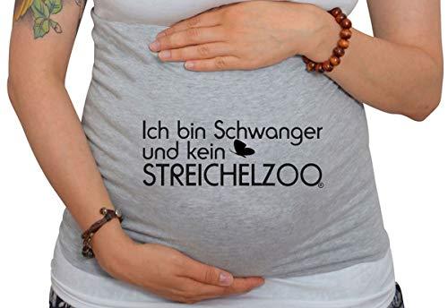 Bauchband Ich bin Schwanger und kein Streichelzoo