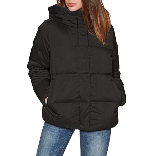 Aigle Nutodi Short Womens Down Jacket UK 12 Reg Noir