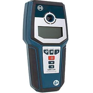 XBSD Escáner de Pared con Sensor 4 en 1, Sensor de Perno electrónico, Detector de Sensor de Centro de Pared Profesional, con Pantalla LCD, para Pernos, Metal, Madera, Cable de Corriente alterna.