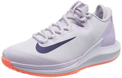 Nike Womens W NIKECOURT AIR Zoom Zero HC Tennis Shoe, Barely Grape/Regency Purple-Bright Mango