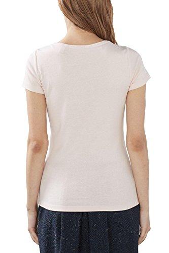 ESPRIT Damen T-Shirt Rosa (Light Pink 2 691)