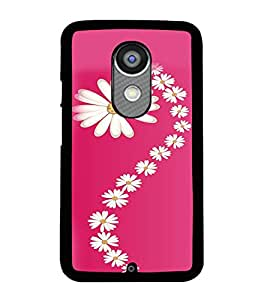 Printvisa Assorted Floral Pattern Back Case Cover for Motorola Moto X2::Motorola Moto X (2nd Gen)