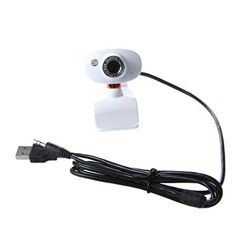 Webcam - SODIAL(R)USB 2.0 50.0m HD Webcam Camara con microfono para PC