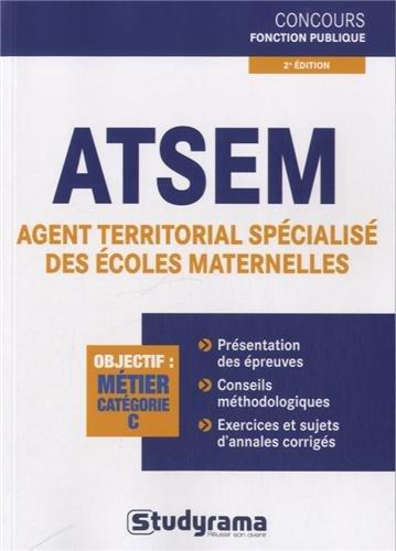 ATSEM, agent territorial spécialisé des écoles maternelles
