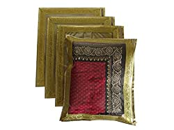 VC Single Saree Cover Bag 4 Pieces Pack