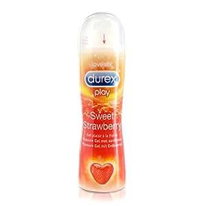 Durex Play 50 ml Strawberry Lubricant