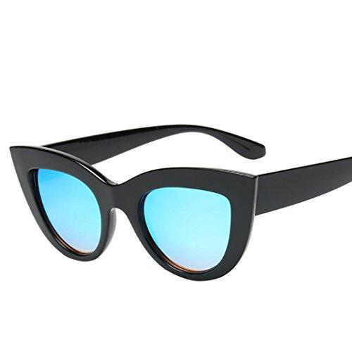 Gusspower Mujer Gfas De Sol Gafas Gato Ojos Polarized,Retro Moda Estilo Vintage Gafas Para Mujer (E)