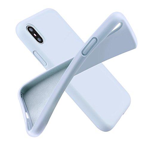 Custodia iphone x, [funziona la ricarica wireless] arrinew ultra sottile, 360 gradi full body custodia in ultra slim hard case ultra sottile custodia pp anti graffio case anti impronte protettiva e le