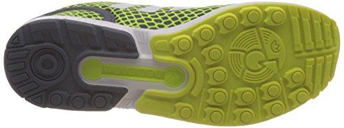 Adidas Zx Flux Techfit Scarpe sportive, Uomo Yellow