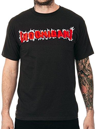 Hoonigan T-Shirt Censor Bar Bust Out Grau (Small , Grau)