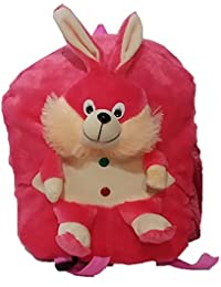 Pari Toys Pink Color School Bag For Kids, Travelling Bag, Picnic Bag, Carry Bag With Soft Material 15 Inch - B074CHPXN8