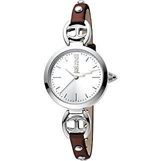 Just Cavalli Reloj Analógico para Mujer de Cuarzo con Correa en Cuero JC1L009L0115