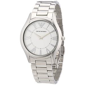 Emporio Armani AR2056 – Reloj analógico de Cuarzo para Mujer, Correa