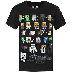 Niño - Minecraft - Minecraft - Camiseta (3-4 Años)