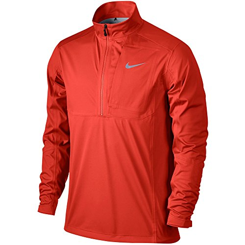 Nike Storm-FIT Vapor Golf Jacke, 1/2 Reißverschluss, Größe M, Hellkarminrot