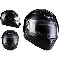 MOTO X86 Gloss Black · Sport Casco Integrale Scooter Cruiser Fullface-Helmet Moto motocicleta Urbano