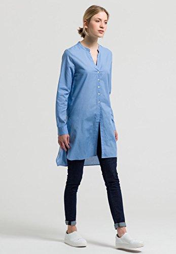 ARMEDANGELS Damen Longbluse aus Bio-Baumwolle - Laiko - Blue