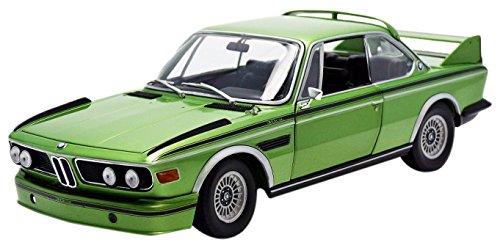 "Minichamps Maßstab 1: 18""1975BMW 3.0CSL Coupe mit Streifen"" Auto (Metallic Gr Preisvergleich"
