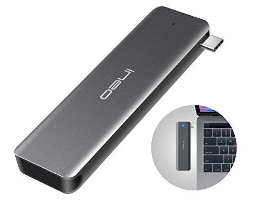 ineo USB C 3 1 Gen 2 Type-C Aluminum M 2 NGFF SSD External Enclosure Case  For 2280 2260 2242 2230 m2 NGFF SSD Caddy [C2589-NGFF]