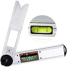 Angle Finder righello strumento misuratore livella 42cm 420mm 16,5 pollici lungo Protactor inclinometro digitale con base magnetica