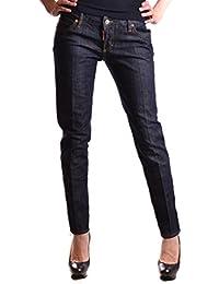 a3e47be9e6c2d Dsquared2 Femme S72LB0119S30144470 Bleu Coton Jeans · EUR 609,00 · Jeans  Dsquared