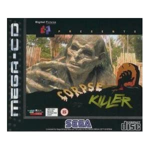 Corpse Killer Sega Mega CD 32x