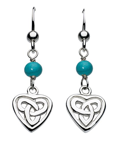 heritage-sterling-silver-and-turquoise-celtic-heart-drop-earrings