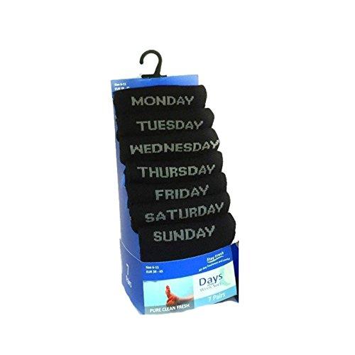 ff11-lot-de-7-paires-de-chaussettes-jours-de-la-semaine-humeur-fantaisie-coton-noir-pour-usage-quoti