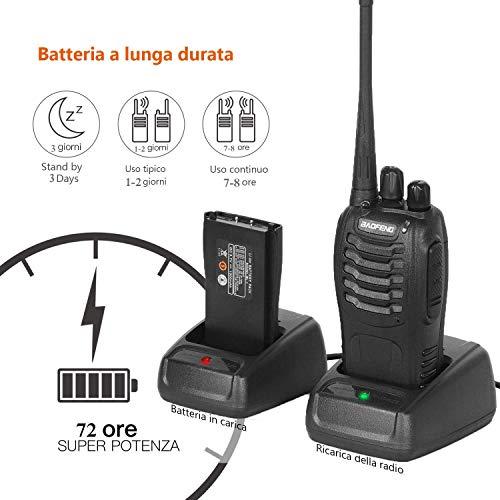 Zoom IMG-2 walkie talkie 2pz 16 canali