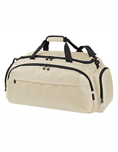 HALFAR® HF9789 Sport / Travel Bag Mission Freizeittaschen Sport- & Reisetaschen Tasche, Farbe:Taupe Beige