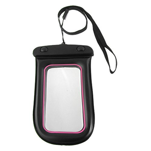 DealMux Pink Rim Cell Phone Water Resistant case voor mobiele telefoons Pink Rim