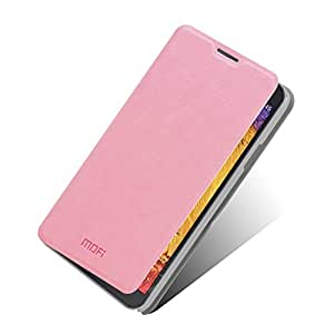 MOFI Rui Series Folio Stand Leather Case Flip Cover for Samsung Galaxy Note 3 Neo N7505 N7502 - Pink