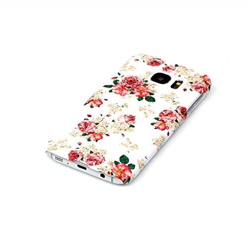Samsung Galaxy S6 Cover ,Samsung Galaxy S6 Caso,Bonice Antiurto Shock-Absorption Ultra Sottile PC Hard Back Durable Panda Case + 1x Protezione Dello Schermo Screen Protector Cover , iPhone 5C Caso,Bon model 09
