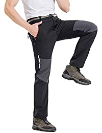 ab6e13e0207a OEAK Pantalon de Travail Homme Cargo Pantalon Battle en Coton Chino Sport  Outdoor Chaud Epaisse Casual