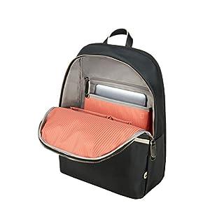 "41eEEC%2BocqL. SS300  - Samsonite Nefti - Backpack 14.1"" Mochila tipo casual, 41 cm, 15 liters, Negro (Black/sand)"