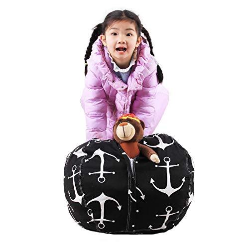 Liyao Kinder gefüllte Bunte Aufbewahrungssack extra große Größe 16-38 '' Premium Baumwolle...