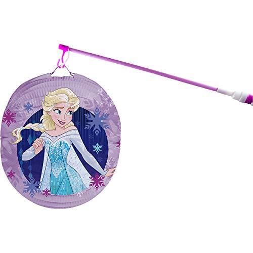 p:os Frozen ELSA Laternenset für Kinder mit elekronischem Laternen-Stab
