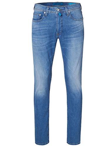 Pierre Cardin Herren Lyon Futureflex Stretch Denim Tapered Fit Jeans, Blau (Indigo 46), W33/L30 (Herstellergröße: 33/30) -