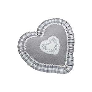 Coussin coeur Lorine - Lot de 2