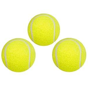 Hudora - Pelotas de tenis (pack de 3)