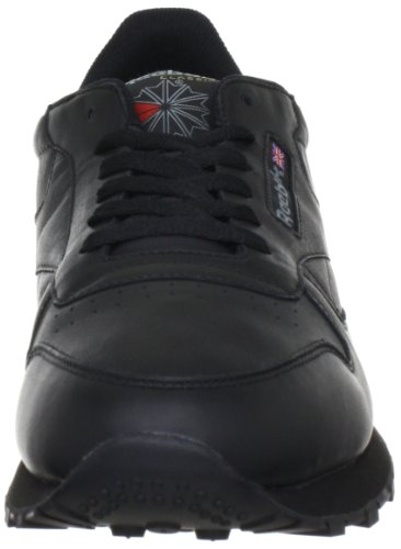 Reebok  CL LTHR, basket mixte adulte Noir (Black)