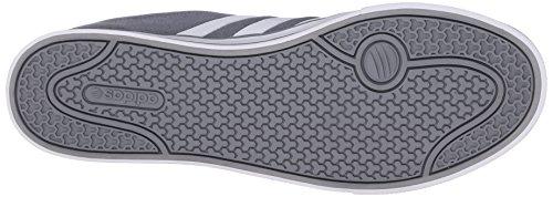 Adidas Neo SE Daily Vulc Lifestyle Skateboarding chaussures, gris / blanc / gris, 13 M Us Grey/White/Grey