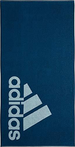 adidas Unisex- Erwachsene L Handtuch, Legend Marine/Ash Grey, One Size