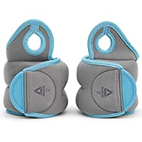 Reebok Rawt-11072Bl 1.5 Kg Wrist Weights, Multi Color