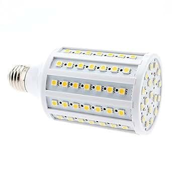 Ampoule LED de Maïs Blanc Chaud (220-240V), E27 20W 102x5050 SMD 1850-1900LM 3000-3500K