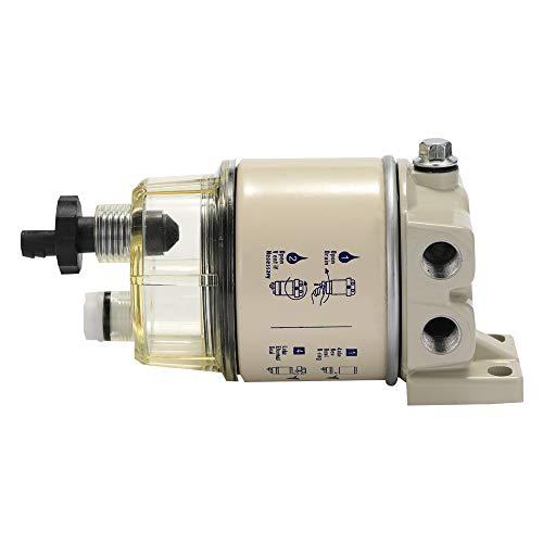R12T Kraftstoff/Wasserabscheider Filter Dieselmotor für Racor 140R 120AT S3240 NPT ZG1 / 4-19 Autoteile Kompletter Kombifilter -